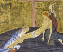 Цугухару Фудзита (Леонар Фужита). Снятие с креста
