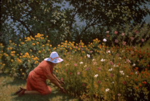Ричард Уитни. Сбор цветов
