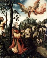 Lucas Cranes the Elder. The Annunciation To Joachim