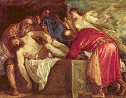 Тициан Вечеллио. Положение во гроб