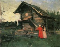 Константин Алексеевич Коровин. Сарай