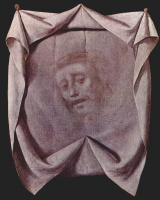 Francisco de Zurbaran. The Holy face