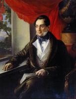 Василий Андреевич Тропинин. Портрет Платона Николаевича Зубова