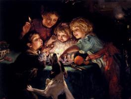 Джон Артур. Дети