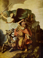 Рембрандт Харменс ван Рейн. Пророк Валаам и ослица
