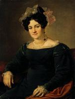 Василий Андреевич Тропинин. Портрет П. И. Сапожниковой