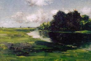 Уильям Меррит Чейз. Пейзаж Лонг-Айленда после ливня