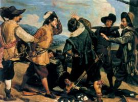 Диего Веласкес. Ссора солдат перед посольством Испании