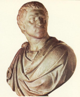 Микеланджело Буонарроти. Брут. Фрагмент.