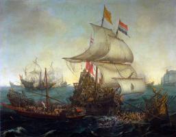 Хендрик Врум. Корабли в море