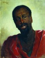 Константин Егорович Маковский. Африканец