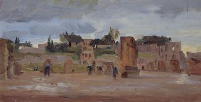 Giovanni Giacometti. Ruins Of Rome