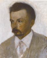 Вильгельм Хаммерсхёй. Автопортрет
