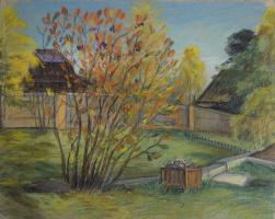 Ирина Соболева. Осенний двор