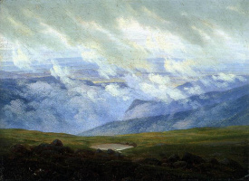 Каспар Давид Фридрих. Дрейфующие облака