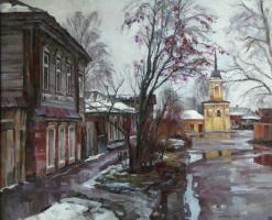 Оттепель в Коломне.