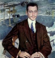 Александр Яковлевич Головин. Портрет В. И. Канкрина