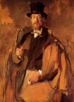 Вильгельм Мария Хубертус Лайбль. Портрет художника Пауля фон Шиней-Мерци