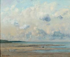 Gustave Courbet. Rivage près de Honfleur