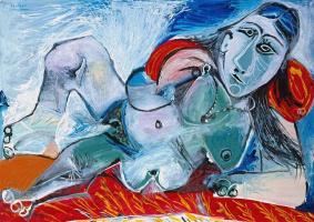 Пабло Пикассо. Обнаженная в колье
