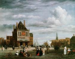 Якоб Исаакс ван Рейсдал. Плотины в Амстердаме