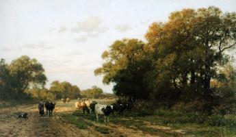 Бакузен ван дер Санд. Пейзаж