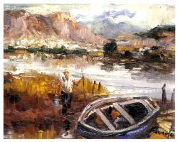 Антонио Реверте. Лодка на берегу