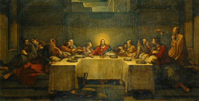 Vasily Kuzmich Shebuev. The last supper