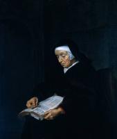 Габриель Метсю. Читающая женщина