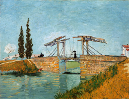 Vincent van Gogh. Drawbridge
