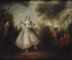 Николя Ланкре. Танцующая Камарго