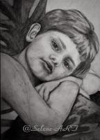 Elena Sh. Portrait of the son