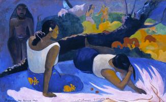 Поль Гоген. Лежащие таитянки