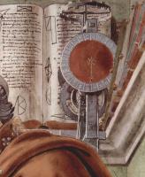 Сандро Боттичелли. Св. Августин в молитвенном созерцании. Деталь
