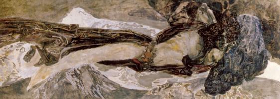 Mikhail Aleksandrovich Vrubel. Flying Demon