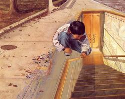 Роб Александр. Ребенок рисует мир