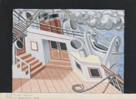 Хуан Грис. Палуба корабля