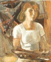 Туве Янссон. Портрет женщины