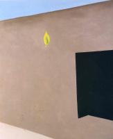 Джорджия О'Киф. Дверь в патио с зеленым листом