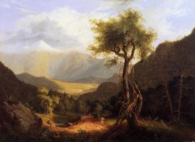 Томас Коул. Белые горы