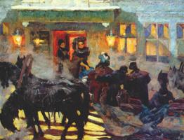 Константин Федорович Юон. Зима