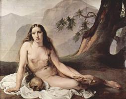 Франческо Айец. Кающаяся Мария Магдалина