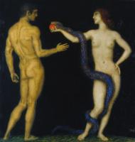 Franz von Pieces. Adam and eve