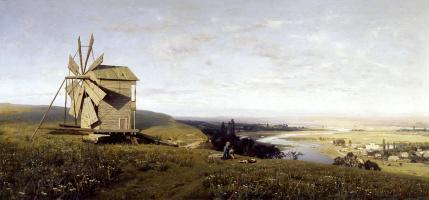 Владимир Донатович Орловский. Украинский пейзаж