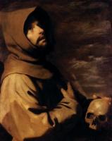 Франсиско де Сурбаран. Св. Франциск (деталь)