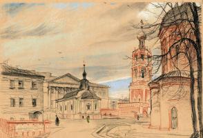 Высоко-Петровский монастырь.