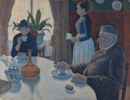 Paul Signac. Breakfast or Dining room