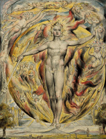 """Уильям Блейк. Солнце у его восточных ворот. Иллюстрации к поэмам Мильтона """"Веселый"""" и """"Задумчивый"""""""