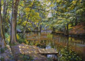Мила Канеева. Лето в лесу (свободная копия)