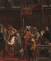 Ян Матейко. Крещение Владислава III Варнечика в Польше 18 февраля 1425 года. Фрагмент III